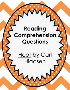 Hoot by Carl Hiaasen Reading Comprehension Questions