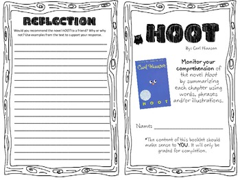 """Hoot"" Summarizing Booklet"