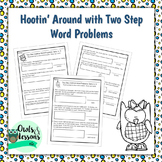 Two Step Word Problems Addition Only