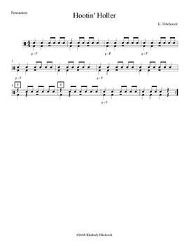 Hootin' Holler – Very Easy Beginning Band Arrangement