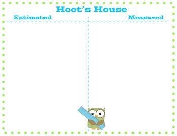 Hoot's House: Estimation & Measurement Activity