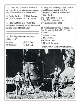 Hoover Dam Exam