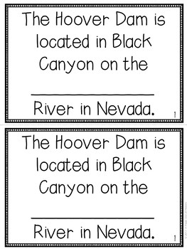 Hoover Dam Mini-Books (U.S. Landmarks)
