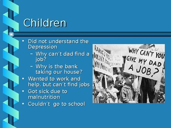 Hoover and the Depression PowerPoint