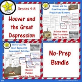Hoover and the Great Depression No-Prep Bundle