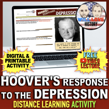 Hoover's Response to the Depression Activity