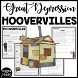 Hoovervilles in the Great Depression Reading Comprehension Worksheet