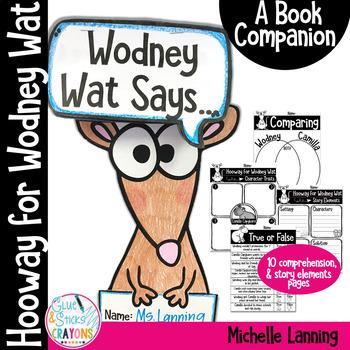 Hooway for Wodney Wat Book Companion Activities