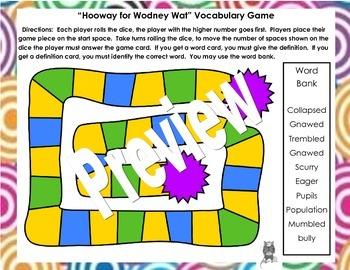 Hooway for Wodney Wat Close Reading Unit