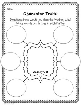 Hooway for Wodney Wat Comprehension Printables