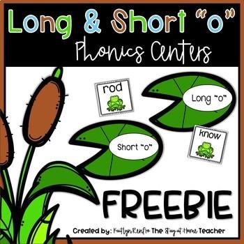 Long and Short o - Sort FREEBIE