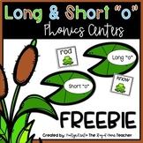 Long O and Short O Centers FREEBIE