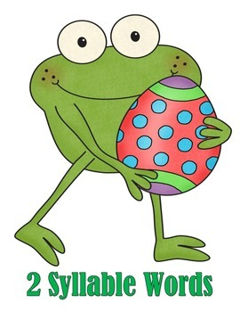 Syllables - Hop Along!  Froggy Wants to Find His Creative Eggs!