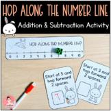 Hop Along the Number Line! Kindergarten Addition and Subtr
