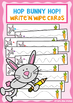 Hop Bunny Hop - Tracing / Prewriting Practice Cards