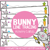 Hop Bunny Hop - Tracing / Prewriting Practice Cards