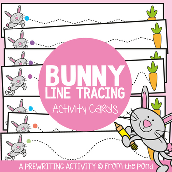 Hop Bunny Hop - Writing Practice Cards