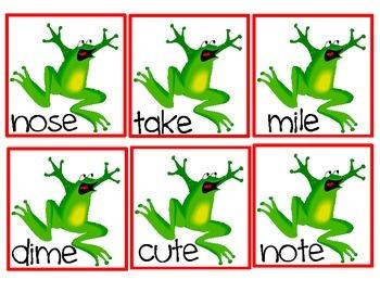 Hop Frog Hop! & Where's the fly? A Sneaky e Game (Silent e - cvce)