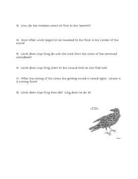 """Hop Frog"" by Edgar Allan Poe Study Guide"