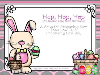 Hop, Hop, Hop: A Song For Prep/Presenting Low Ti, (SMNTBK Ed.)