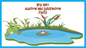Hop Into Addition and Subtraction Facts