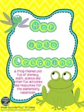 Hop Into Learning: Frog-themed Math, Science, and Literacy Packet