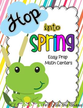Hop Into Spring--Easy Prep Math Games