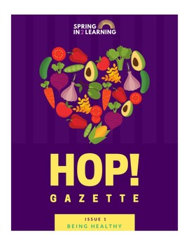 Hop! Learning Journal: Issue 1 - Being Healthy