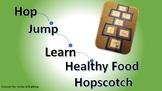 Hop, Jump, Learn Healthy Food Hopscotch