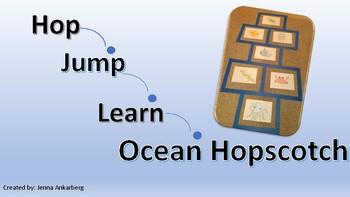 Hop, Jump, Learn Ocean Hopscotch