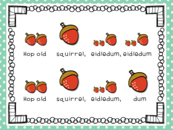 Hop Old Squirrel: A Song to Teach re and tika-ti