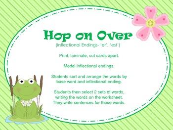 Hop On Over- Inflectional Endings (er,est)