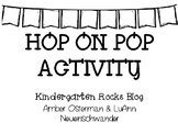 Hop On Pop Word Activity