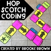 Hop Scotch Coding (Hour of Code) - Unplugged & Google Slides - Distance Learning