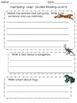 Hop! Skip! Leap! Guided Reader Response Sheet (Freebie)