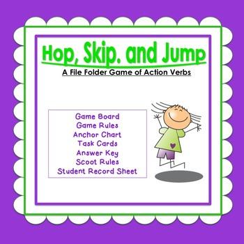 Hop, Skip, and Jump:  Action Verbs