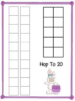 Hop To 20  - A Place Value Game