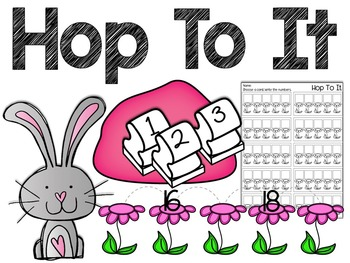 Hop To It: Number Order Counting Station