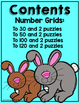 Hop To It On The Number Grid +1/-1 +10/-10