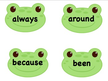 Hop To It! Sight Word Game