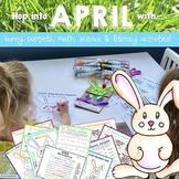 Bunny Puppet & Fun Facts, Math, Science & Literacy Activit