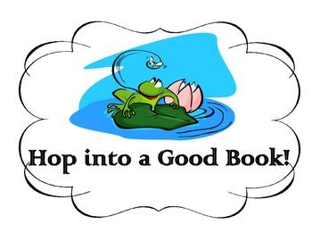 """""""Hop into a Good Book"""" Book Report"""