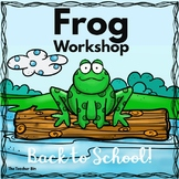 K-2nd Grade- Frog Workshop-Hop into a New Year
