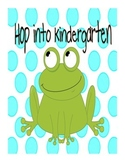 Hop into...K, 1st, 2nd, 3rd, 4th, 5th, 6th, 7th, 8th - Frog