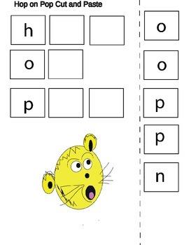 Hop on Pop Dr. Seuss Literacy Unit
