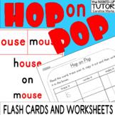 HOP ON POP {sight word flash cards} {kindergarten morning work}