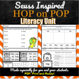 Hop on Pop | Literacy Unit