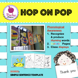Hop on Pop Phonological Awareness Recognize and Produce Rhyming Words