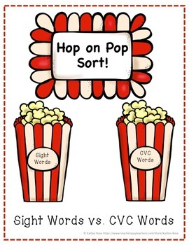 Hop on Pop Sort