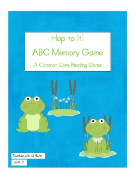 Hop to It!  Memory Game